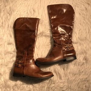 Matisse Leather Blakely Knee High Boots